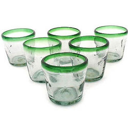 Lime Freeze Juice Glasses