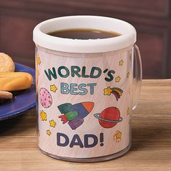 Color Your Own Dad Artist Mug