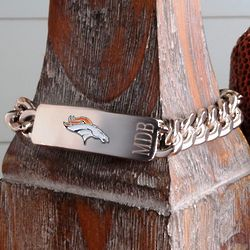 Personalized Denver Broncos Fan Favorite Bracelet