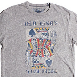 Lucky Brand Old King's Poker Hall T-Shirt