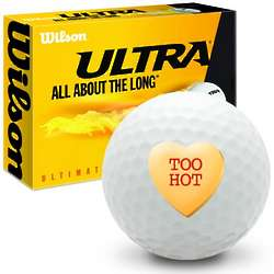Candy Heart Too Hot Ultimate Distance Golf Balls