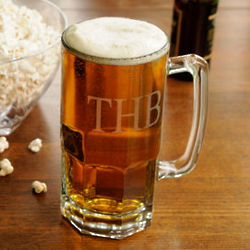 Engraved Jumbo Beer Mug