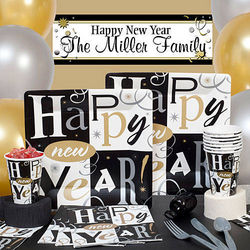 Deluxe Happy New Year Block Party Supplies Kit