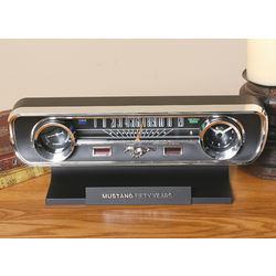SFX Mustang Desk Clock and Thermometer