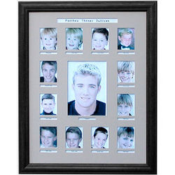 School Years 14 X18 Photo Collage Frame