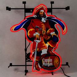 captain morgan pose commercial wall beer neon sign. Black Bedroom Furniture Sets. Home Design Ideas