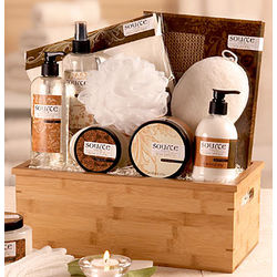 Sheer Vanilla Spa Basket