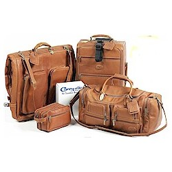 Luxury Leather Luggage Set