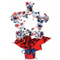 Patriotic Star Shaped Centerpiece