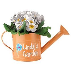Personalized Colorful Flower Watering Can