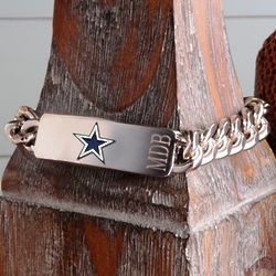 Personalized Dallas Cowboys Fan Favorite Bracelet