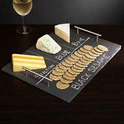 Slate Cheese Board with Handles