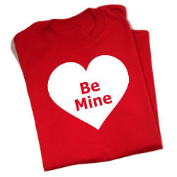 Red Heart Valentine's Day T-shirt