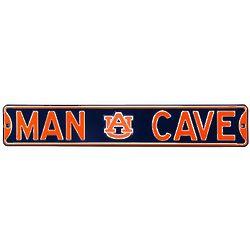 Auburn Tigers Man Cave Street Sign