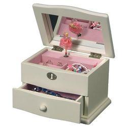 Ivory Musical Ballerina Jewelry Box