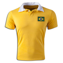 Brazil Retro Soccer Replica Shirt