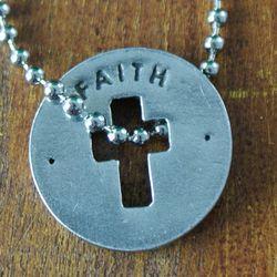 Faith Blessing Cross Ring