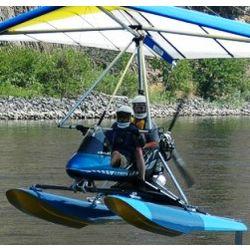 Nez Perce Ultralight Float Trike Flight