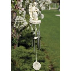 """I am with you always"" Angel Wind Chime"