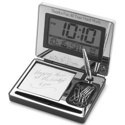 Digital Clock Desk Set