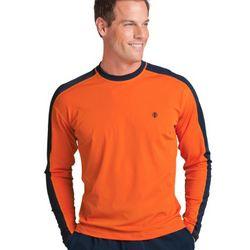 Men's Long-sleeve Crewneck Swim Shirt
