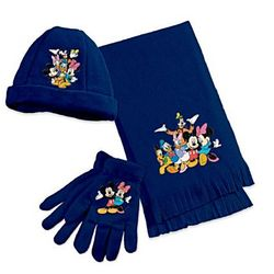 The Magic of Disney Women's Scarf, Hat, and Gloves