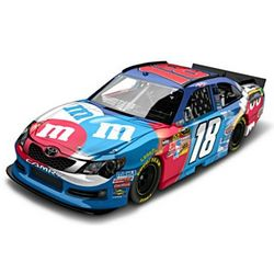 NASCAR Kyle Busch Red White and Blue Diecast Car