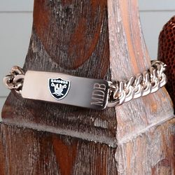 Personalized Oakland Raiders Fan Favorite Bracelet