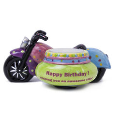 Awesome Ride Birthday Tea Light Holder