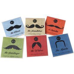 Mustache Coasters Set