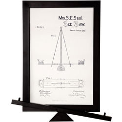 SeeSaw Patent Framed Wall Art