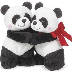 Valentine's Hugging Pandas
