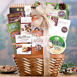 Gourmet Snack Assortment Gift Basket