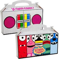Yo Gabba Gabba! Favor Boxes