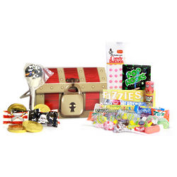 Pirate Treasure Chest Candy Gift Box