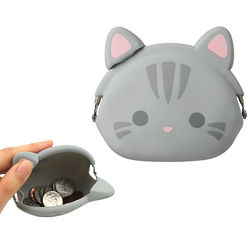Tabby Cat Coin Purse