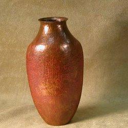 Distinctive Shape Copper Vase