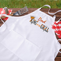 King of the Grill Grilling Apron