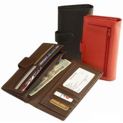 Women's Credit Card Clutch Wallet