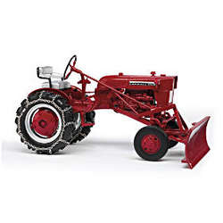 1964 Farmall Cub with Plow Diecast Replica Tractor