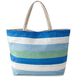 Recycled Plastic Beach Tote