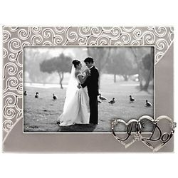 I Do Silver Wedding Picture Frame