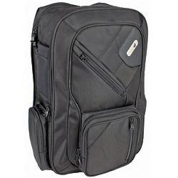 Padded Black Laptop Backpack