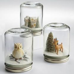 Wintry Snowglobes