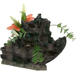 Sunken Gardens Shipwreck Bow Aquarium Decor