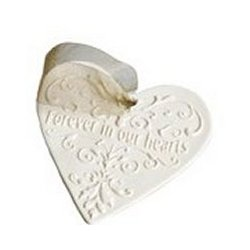 Forever in Our Hearts Porcelain Ornament