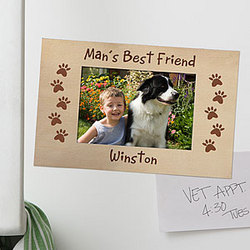 Favorite Pet Personalized Magnet Frame