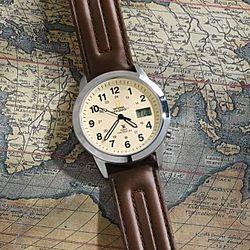 Analog Atomic Field Watch