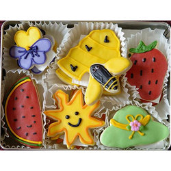 Summer Time Sugar Cookie Gift Tin