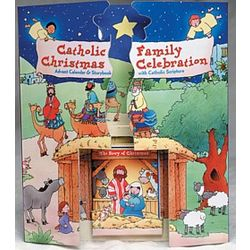 Catholic Family Christmas Celebration Advent Calendar and Book